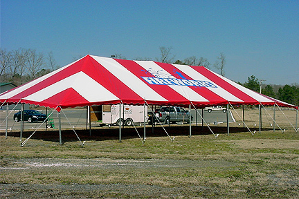 Custom tent made for firework sales. & Tent Sales - River City Tents u0026 Awnings